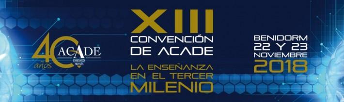 cabecera convencion 2018 710x212 - Ya tienes autobuses entre Alicante y el hotel Meliá Villaitana en la Convención ACADE 2018