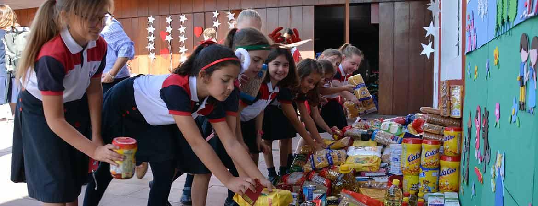 campaña navidad colegios arenas 2018 - Más de 2 toneladas de solidaridad