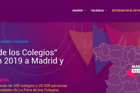feria colegios 2019 480x320 - Vuelve la Feria de los Colegios a Madrid y Valencia