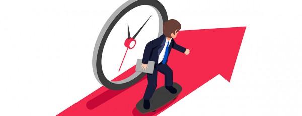 tiempo reloj jornada laboral 600x231 - Anota esta fecha: Jueves 28 de marzo, EDARE con el IESE