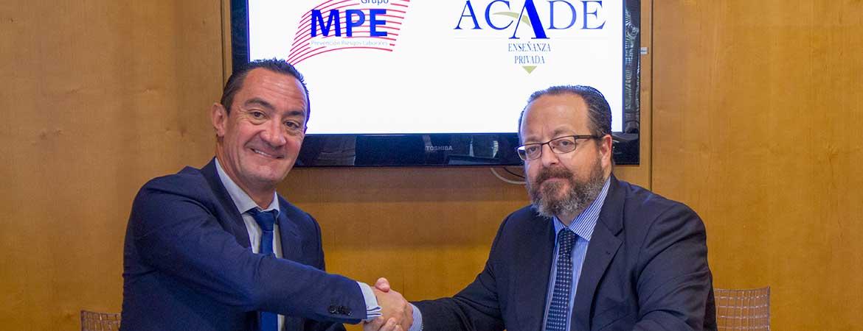 MPE ACADE 3 1 - ACADE crea su División de Prevención de Seguridad y Salud