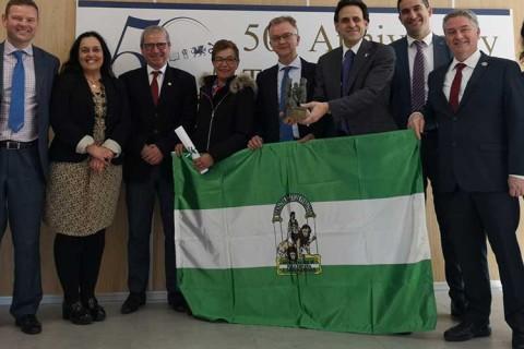 el centro ingles 480x320 - El Centro Inglés recibe la Bandera de Andalucía