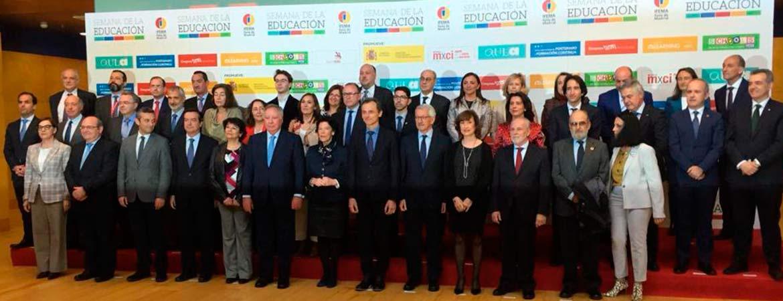 inauguracion Aula 2019 web - El presidente de ACADE participa en la inauguración de la Semana de la Educación