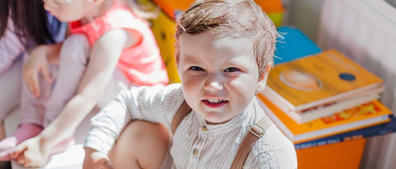 niño escuela infantil - Cinco claves para controlar las rabietas de tus hijos