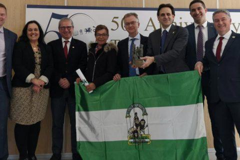 BANDERA DE ANDALUCÍA ECI 480x320 - El Centro Inglés concluye con éxito la celebración de su 50 aniversario