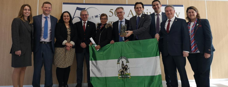 BANDERA DE ANDALUCÍA ECI - El Centro Inglés concluye con éxito la celebración de su 50 aniversario