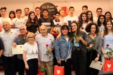Florida Grup Educatiu entrega los premios de la XXIV edición de la Rosa de Paper