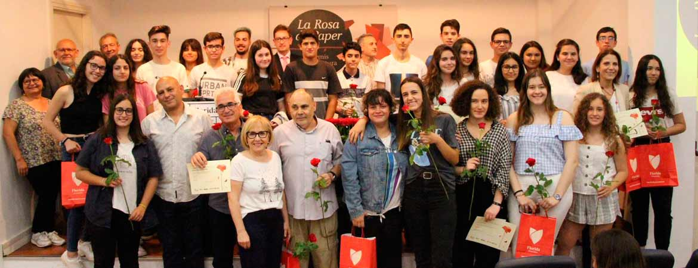 FOTO GRUP ROSA 2019 - Florida Universitària firma un convenio con el Festival Internacional de Cine Infantil de Valencia