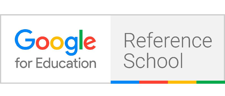 Google RefSchool Badge LG 1 - Palacio de Granda certificado como Escuela Referente de Google for Education
