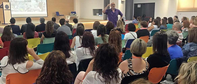 educainnova 2019 5 - La jornada Educainnova del colegio San Cristobal aborda la neurodidáctica en el aula ante más de 170 personas