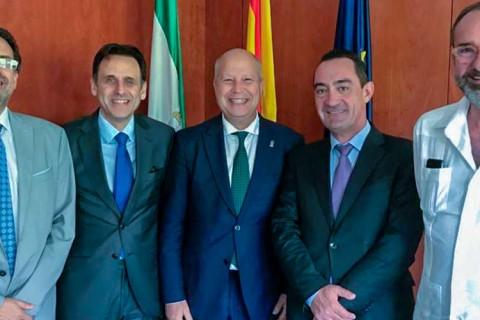 reunion acade consejero educacion andalucia junio 2019 480x320 - ACADE solicita al consejero de educación de Andalucía la autonomía diferenciada para los centros privados y la financiación directa a las familias