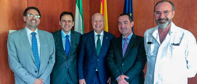 reunion acade consejero educacion andalucia junio 2019 - ACADE solicita al consejero de educación de Andalucía la autonomía diferenciada para los centros privados y la financiación directa a las familias