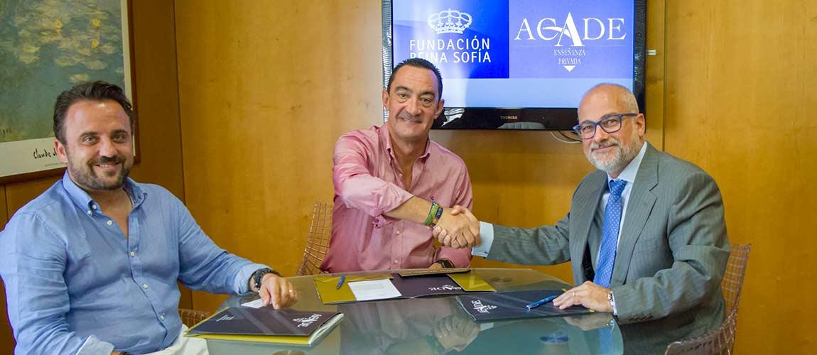 firma fundacion reina sofia acade web - ACADE se une a la Fundación Reina Sofía en la educación medioambiental: Descubre LEMON