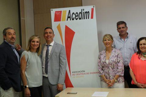junta directiva acedin 2019 480x320 - Mª José Artero reelegida presidenta de ACEDIM