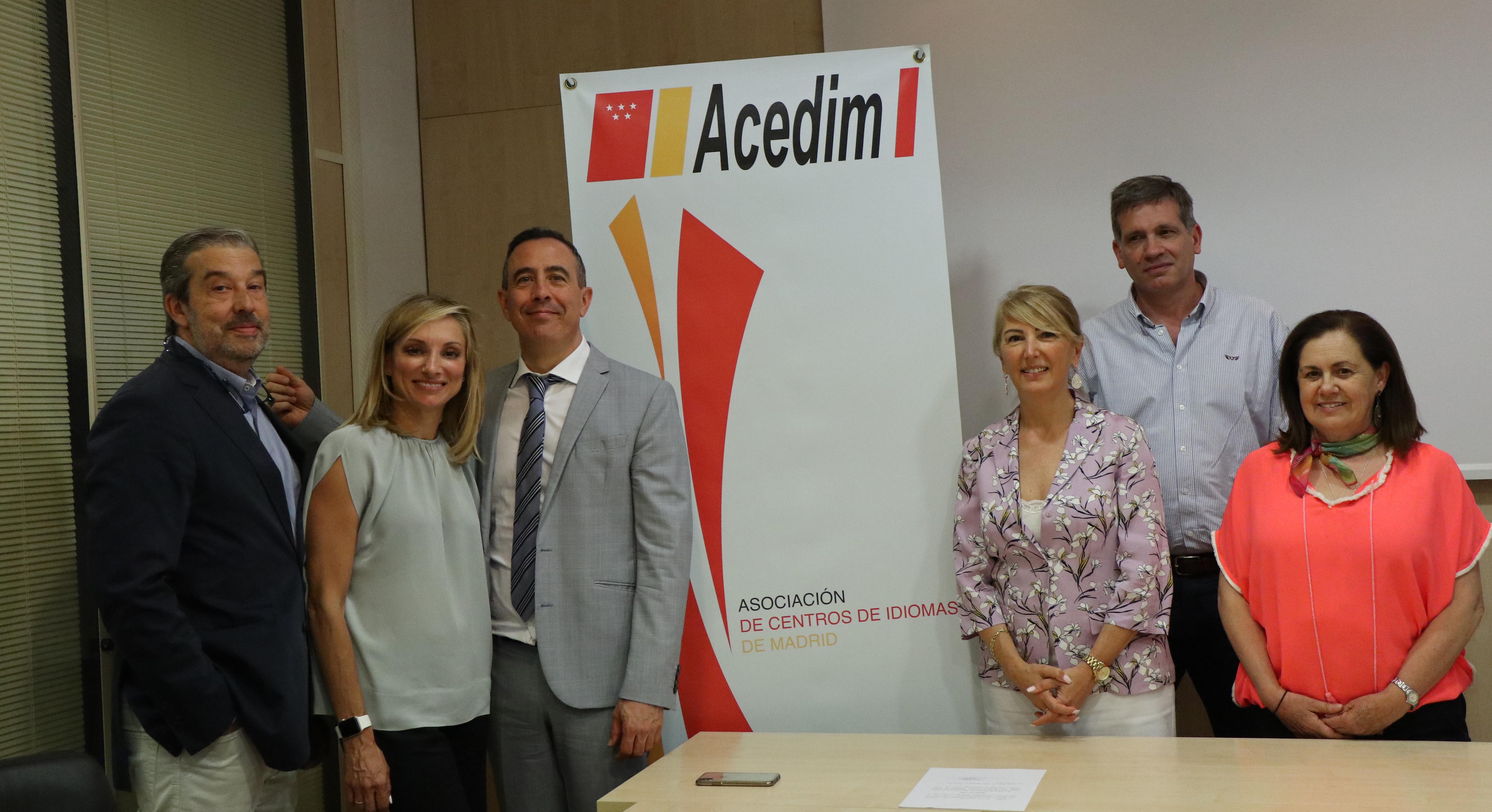 junta directiva acedin 2019 - ACEDIM promociona la asistencia a Edumanager a sus centros asociados