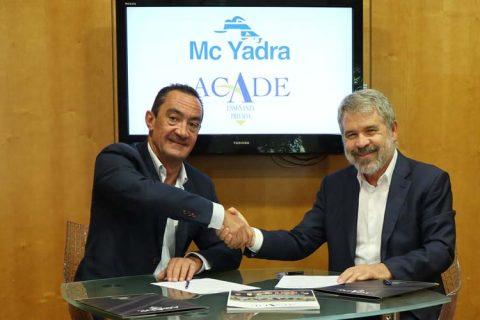 mcyadra 480x320 - McYadra y ACADE renuevan su alianza. La identidad del colegio en buenas manos