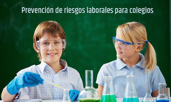 prl colegios 570x339 - División de Prevención, seguridad y salud