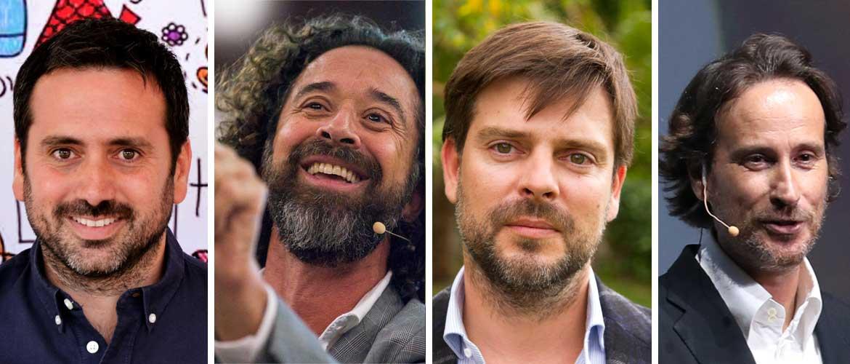 cuatro ponentes foro octubre WEB - ACADEEDU FORUMMadrid. Una cita con la innovación en educación