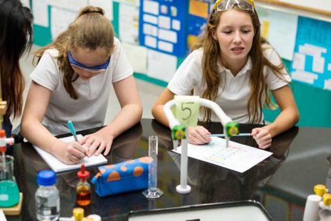 estudiantes quimica 480x320 - Los centros educativos privados ahorraron al Estado más de 5.700 millones de euros en 2018