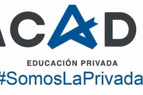 Logotipo ACADE Fondo Blanco Plano Somos la Privada WEB 480x320 - ACADE apunta que la libertad de enseñanza está protegida en el artículo 27 de la Constitución
