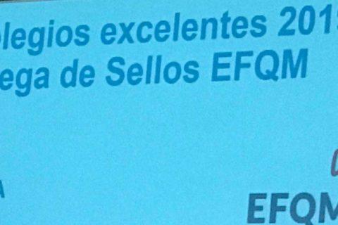 IMG 9918 480x320 - Británico de Aragón, Base y Ramón y Cajal reciben el Sello EFQM +500