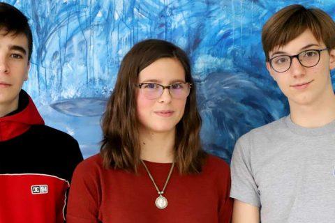 Mario Cristina Leopoldo 480x320 - Tres alumnos del Colexio M. Peleteiro, premios extraordinarios de ESO