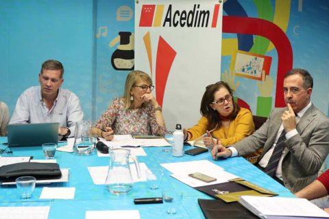 junta directiva acedim nov 2019 480x320 - Celebrada la reunión de Junta Directiva con numerosos acuerdos