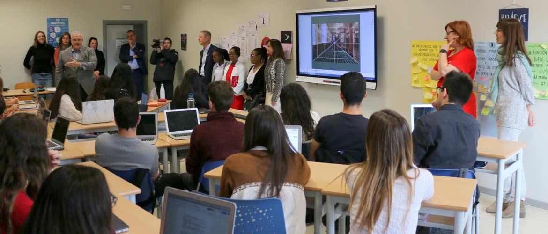 mas camarena web - SMART Technologies reconoce a Mas Camarena como Escuela Ejemplar Smart en la comunidad valenciana