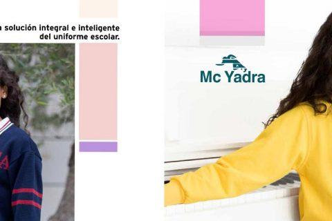 mcyadra folleto 480x320 - McYadra, el Uniforme Escolar en clave digital