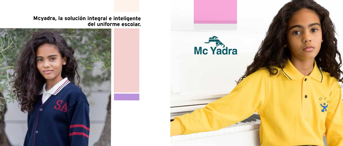 mcyadra folleto - McYadra, el Uniforme Escolar en clave digital