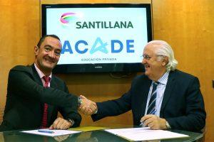Santillana, grupo editorial líder en educación, renueva su alianza con ACADE