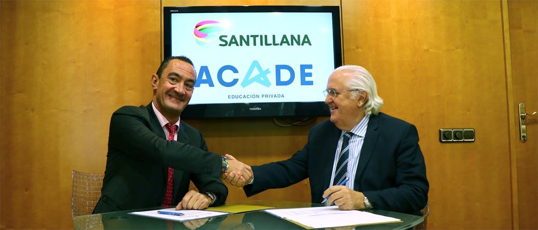 santillana web - Santillana, grupo editorial líder en educación, renueva su alianza con ACADE