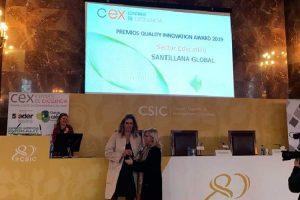 SET VEINTIUNO de Santillana, Premio QIA-CEX de Innovación educativa