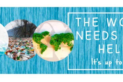 El Mundo Necesita Nuestra Ayuda web 480x320 - FECEI, en colaboración con Cambridge Assessment English, convoca un concurso sobre el clima para estudiantes de inglés