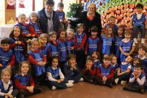 Éxito de la campaña navideña en el colegio Peleteiro con la recolección de más de 4.400 kilos