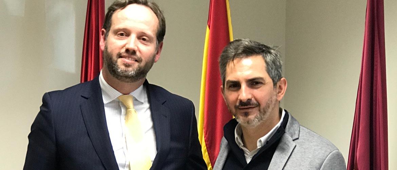 grima - Reunión del presidente de Educación Infantil de ACADE con el Ayuntamiento de Madrid