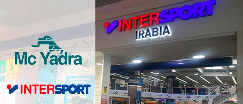 intersport mcyadra 2 - McYadra e Intersport, alianza para la gestión eficiente del vestuario escolar y servicio de calidad