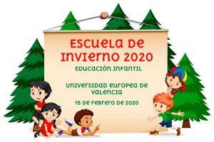 Valencia acogerá la próxima Escuela de Invierno de Educación Infantil