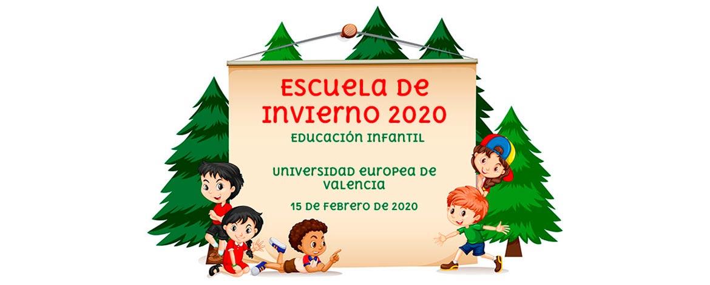 noticia home escuela invierno valencia - Valencia acogerá la próxima Escuela de Invierno de Educación Infantil