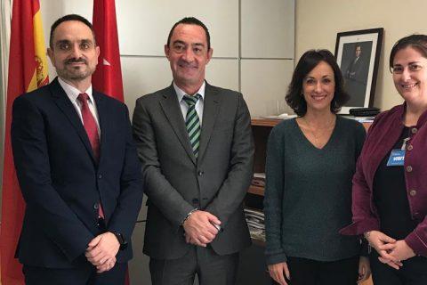 reunion fp madrid 480x320 - ACADE se reúne con el director general de Educación Concertada, Becas y Ayudas de Madrid