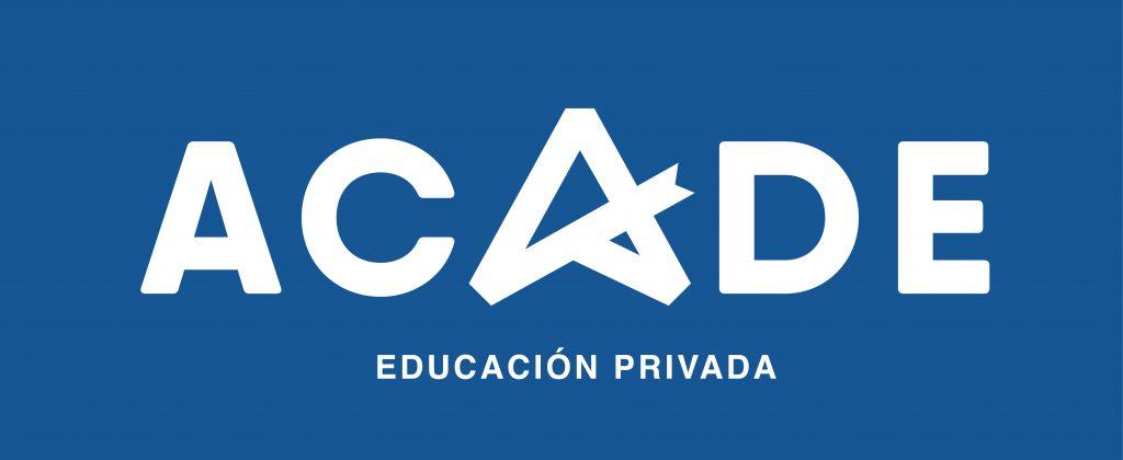nuevo logo acade individual plano fondo azul 1024x420 - Sobre ACADE