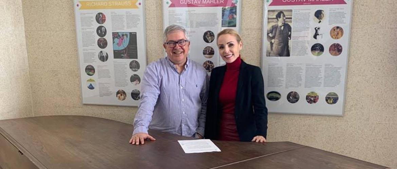 0e42276e cd0b 45b4 ad0b ff76689a673b - Internacional Costa Adeje firma un convenio con el Conservatorio Superior de Música de Canarias
