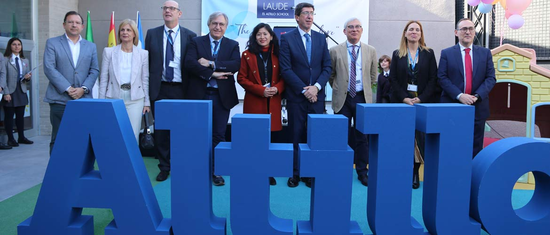 El altillo - El vicepresidente Andalucía inaugura el nuevo edificio de Educación Infantil de LAUDE El Altillo School