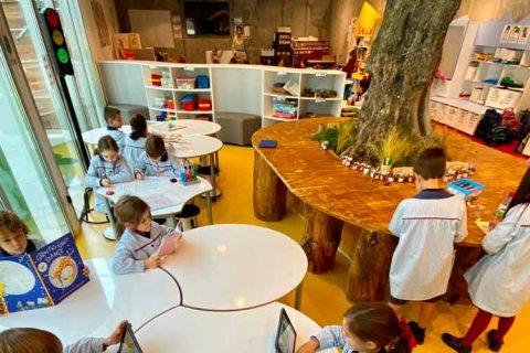 aula 1 2 británico 480x320 - El colegio Británico de Aragón presenta sus nuevas instalaciones