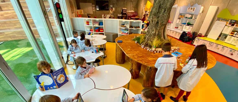 aula 1 2 británico - El colegio Británico de Aragón presenta sus nuevas instalaciones