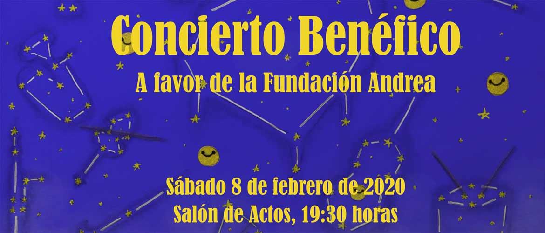 cartel concierto - Éxito de la campaña navideña en el colegio Peleteiro con la recolección de más de 4.400 kilos