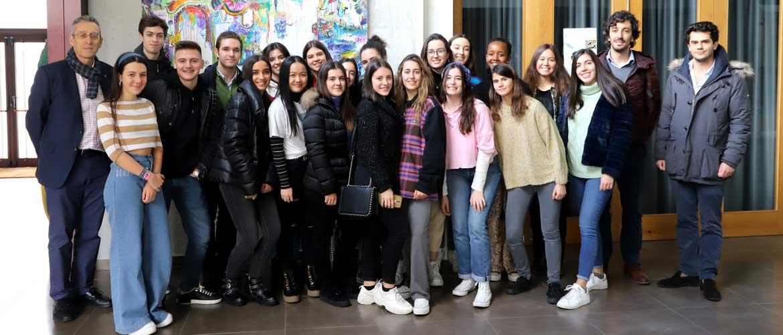 Peleteiro SAW 1 - Veinte alumnos de los colegios Peleteiro y el portugués Do Ave participan en el programa de intercambio SAW