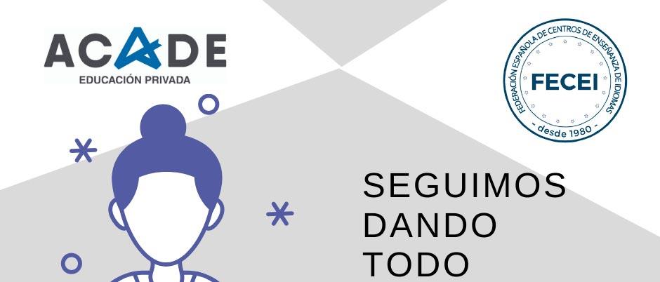 cartel fecei web - Folleto informativo de ACEDIM, con recomendaciones para elegir un centro de enseñanza de idiomas