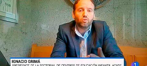 miniatura entrevista tve ignacio grima web 480x216 - Noticias de la Sectorial de Escuelas Infantiles