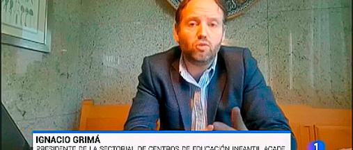 """miniatura entrevista tve ignacio grima web - Ramiro López a Cadena Ser Valencia: """"Es casi imposible mantener las medidas de seguridad"""""""